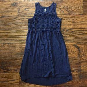 Old Navy Navy Blue Dress sz 8 EUC